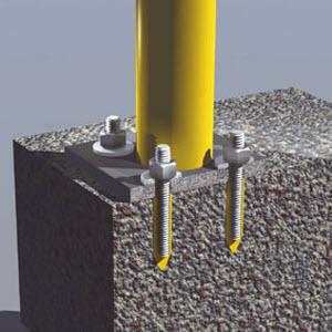 Chemické kotvy do betonu